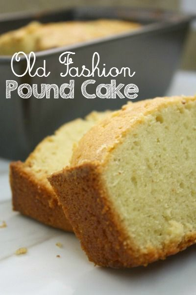 A delicious old fashion pound cake recipe that has been handed down from generation to generation. Perfect dessert for new neighbors or BBQs.