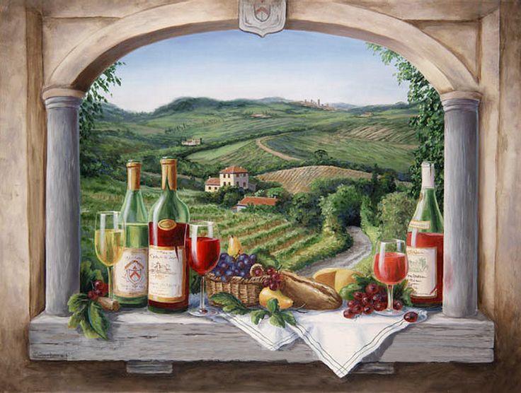 Картинки с деревенским пейзажем в стиле прованс вино, мальчика полгодиком картинки