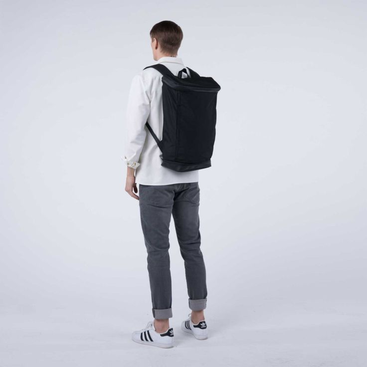 Invisible Backpack TWO male model