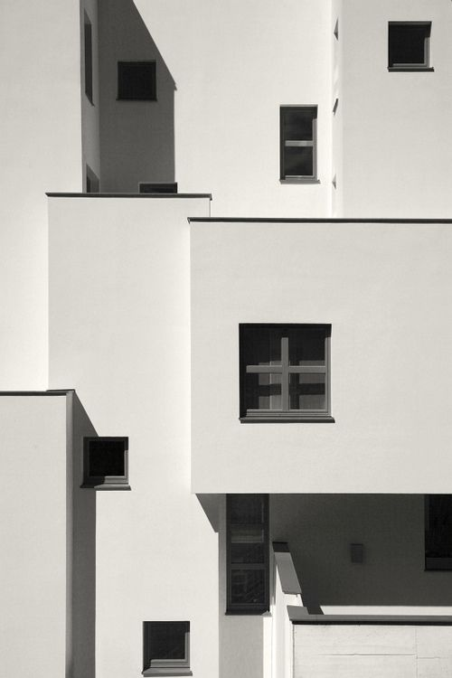 by ®oland on Flickr. architecture, cube, modern, contemporary design