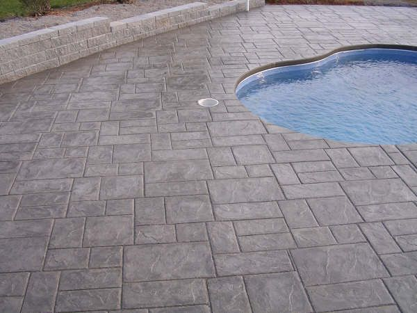 25 best ideas about stamped concrete patterns on for Pool design pattern