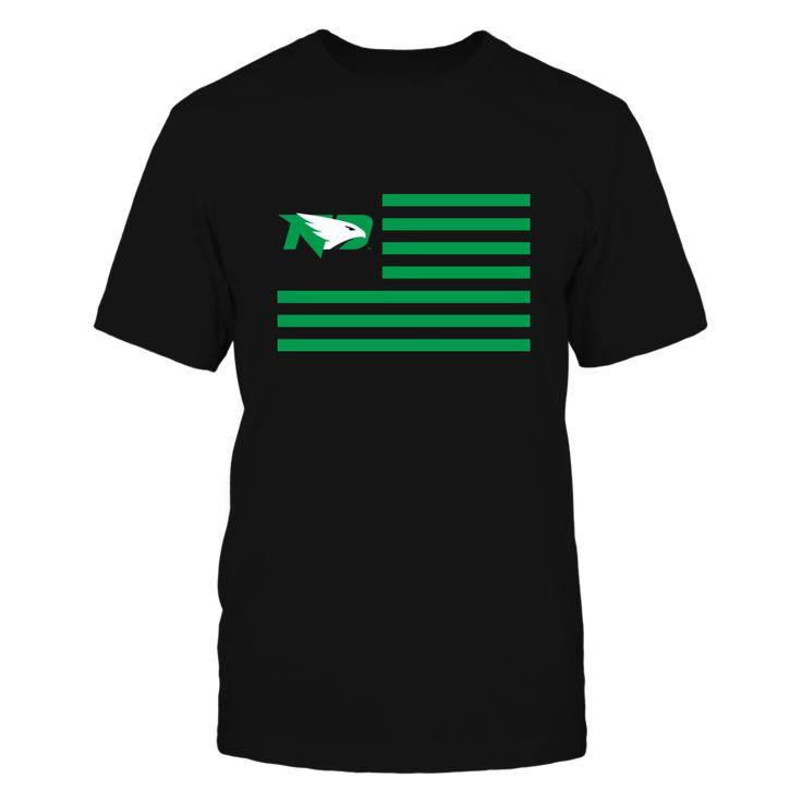 North Dakota Fighting Hawks - Flag Stripes Front picture