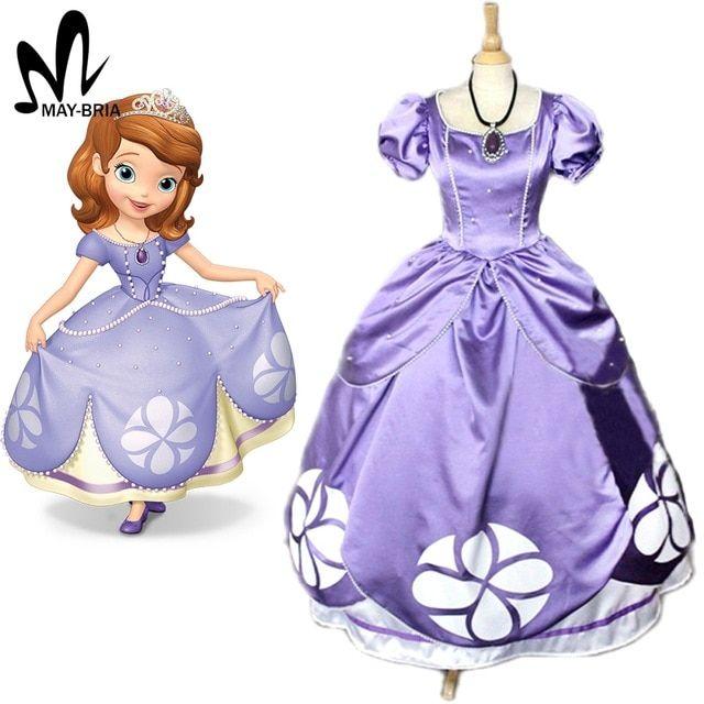 Aliexpress Comprar Vestido De Princesa Sofia Sofia La