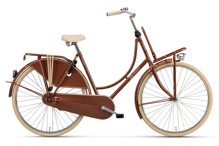 Batavus Old Hollandais Plus Vélo Femme 50cm - Cuivre