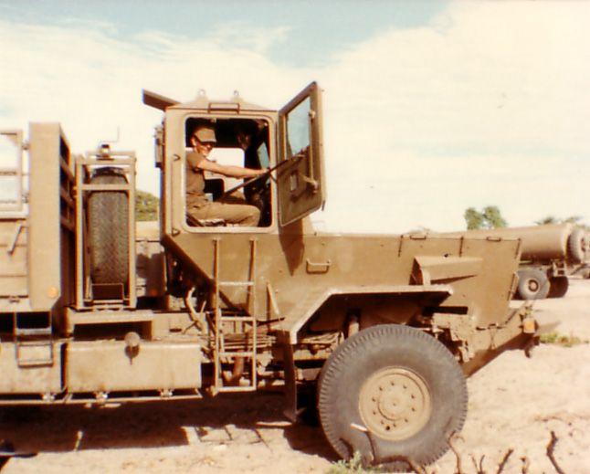 Samil 100 Kwevoel V10 landmine protected Truck.
