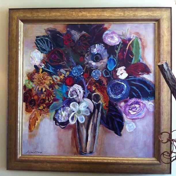 """Fiona Hoop's """"Floral 1"""" via @wplinc"""