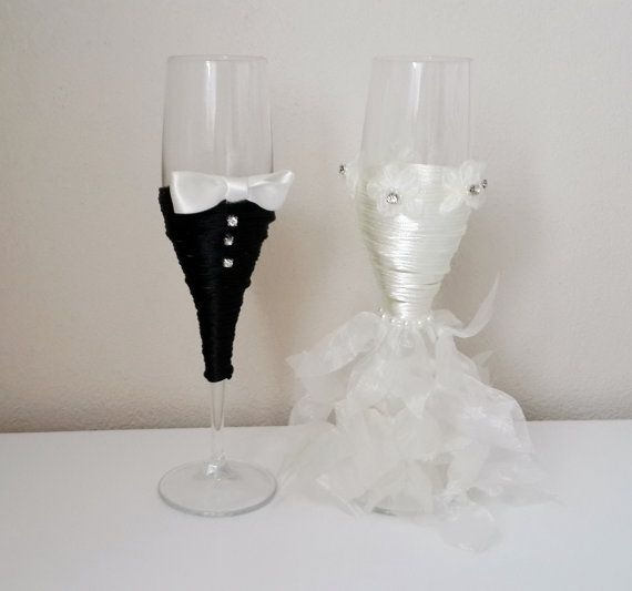 How Many Wine Glasses For Wedding Gift : Gift, Bride And Groom Wine Glasses, Wedding Glasses, Wedding Gifts ...
