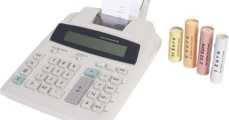 Instrucciones de Casio HR-8TM. La Casio HR-8TM es una calculadora con impresora útil para los que preparadores impuestos y los profesionales de negocios. La máquina difiere un poco de una calculadora básica porque imprime los cálculos y tiene algunas funciones extra. Le da a los usuarios la oportunidad de revisar sus cálculos a medida que los van ingresando. Esta calculadora ...