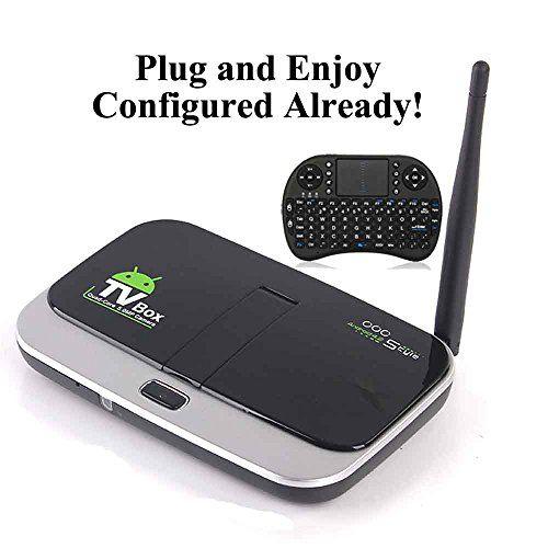KIKI-TV-Streaming-Media-Player Android Internet TV BOX Stream Device with 5MP WEB CAMERA (NO Programming Needed)   Streaming Media Player Reviews