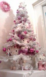 arbolitos de navidad hello kitty