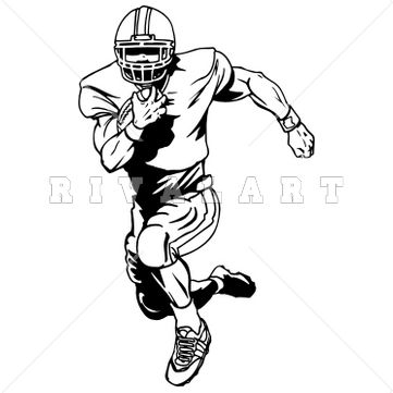 62 best football clip art images on pinterest football clip art rh pinterest com football player clipart silhouette football player clipart free