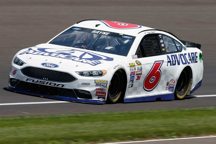 Trevor Bayne will start 20th in the No. 6 Roush Fenway Racing Ford.   -   Crew…