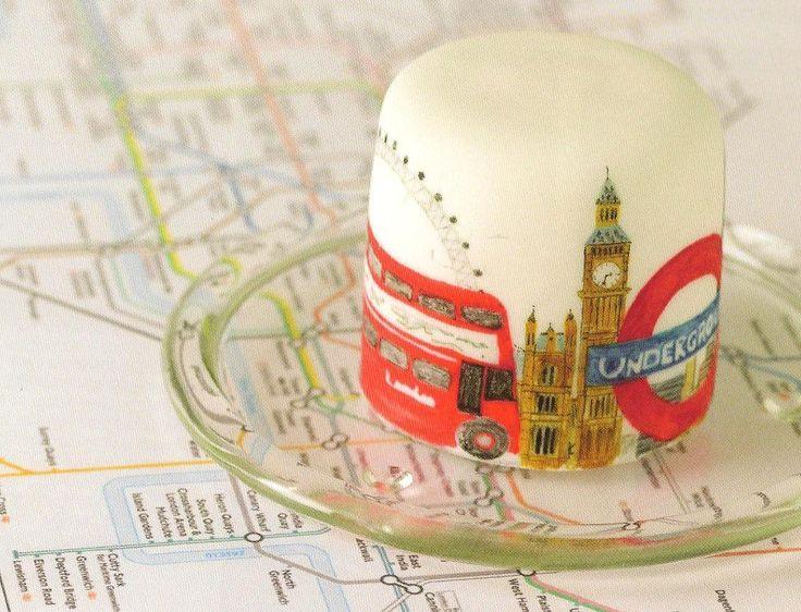 Happy Birthday London Cake