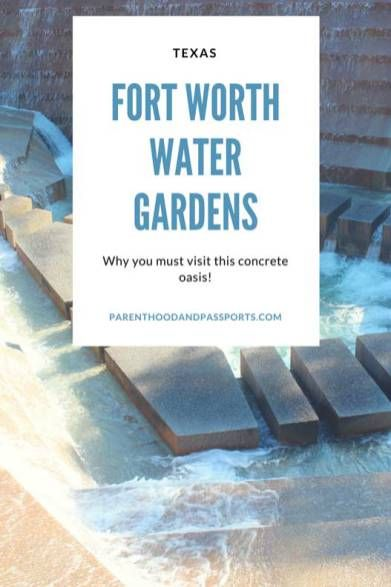 A guide to visiting the Fort Worth Water Gardens, one of the best FREE attractions in Fort Worth, Texas. Plus a look at the urban park's tragic history.