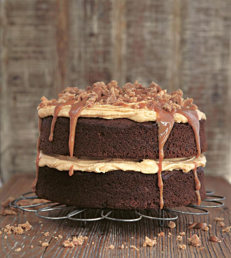 Gloriously Sticky Toffee Cake - The Happy Foodie