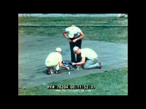 1948 2ND ANNUAL MODEL AIRPLANE CONTEST CONTROL LINE PLANES  DETROIT MICH...