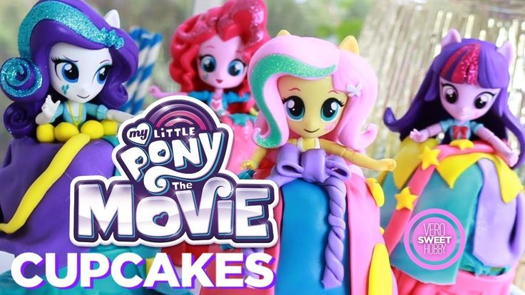 "MI PEQUEÑO PONY CUPCAKES - ""MY LITTLE PONY: The movie"" Cupcakes"