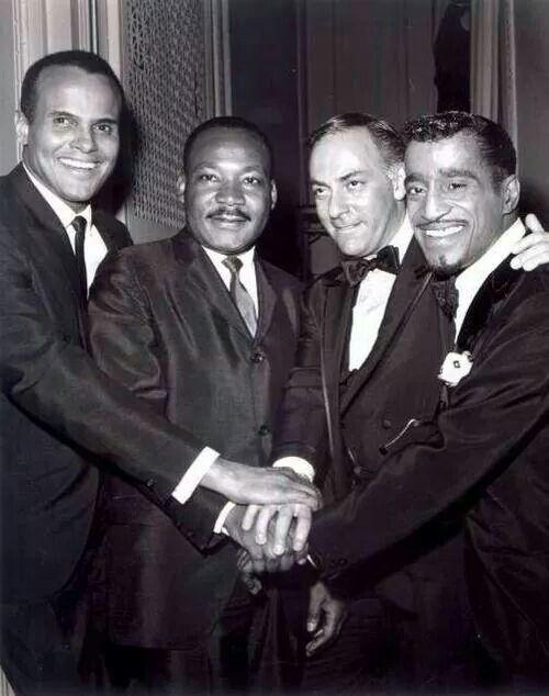 Harry Belafone, Martin L King, Sammy Davis Jr