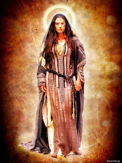 Ascended Master Maria Magdalena. The first priestess traveled and learned from Jesus, and was a figurehead in spreading the Gospel. She's been slandered and trampled through the mud for years by the Catholic Church. Let's give her back her true title of one of the First Saints and Priestesses of the faith in Christ.
