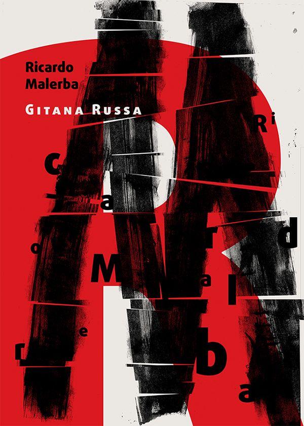 Tango argentino orchestra typographic poster: Ricardo Malerba. Typography
