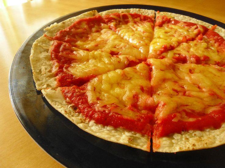 Tomato free pizza