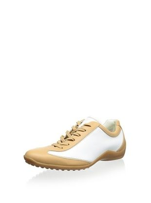 60% OFF Tod's Women's Driving Sneaker (Beige/White)