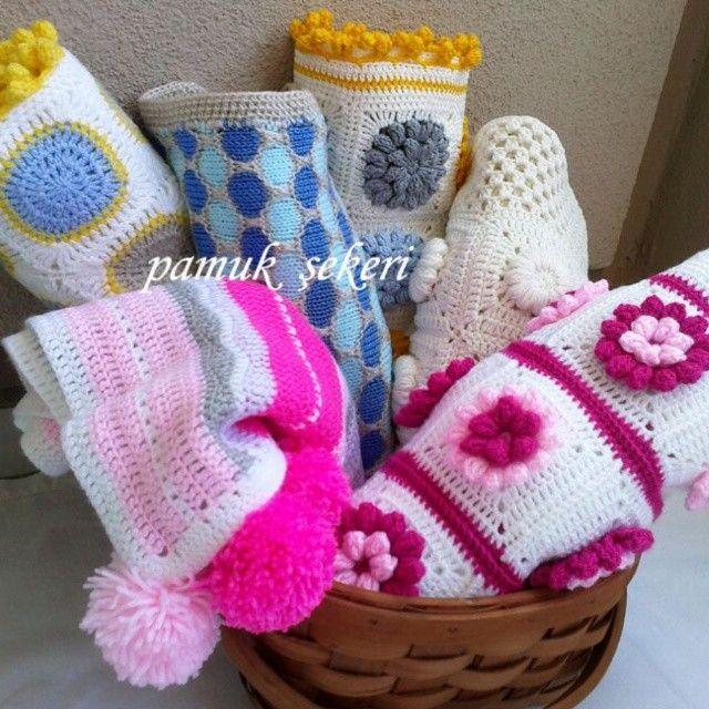 ♥♥♥ Bebek battaniyeleri uygun fiyatla satıştadır, hemen teslim edilir.  #dekoratifyastık #kırlent #yastık #Bebek #Battaniyesi #pamukşekeri #deryabaykal #crochet #handmade #babyblanket #knitting #hediyelik #bebek #eşyaları #hediyelik #bebek #battaniyelerisatış #bebek #battaniyeleri #fiyatları #siparişalınır #yeşil #mavi #kırmızı #pembe #sarı #dizüstübattaniye