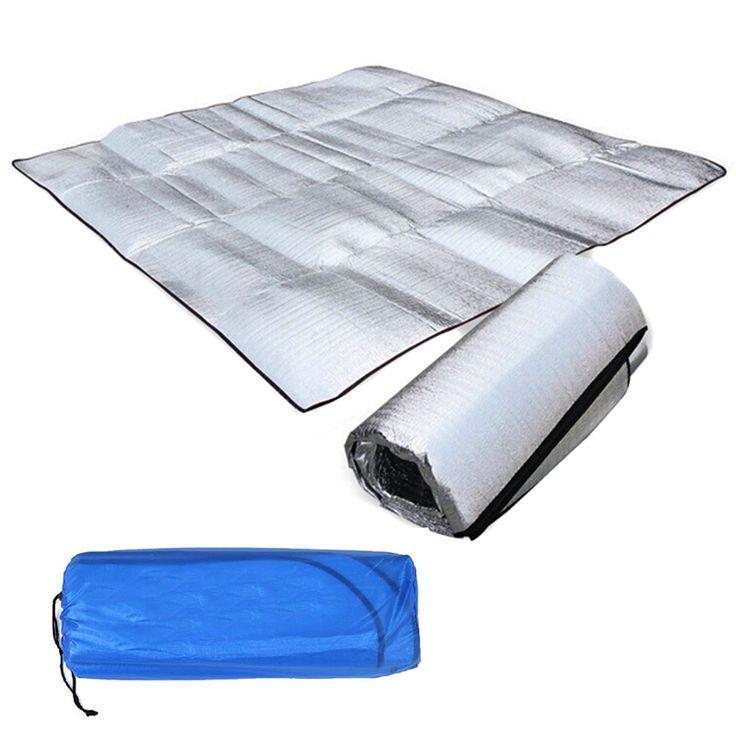 Foldable Folding Sleeping Mattress Mat Pad Waterproof Aluminum Foil EVA Outdoor Camping Mat inflatable mattress VEN14 T31
