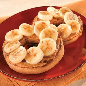 Great for breakfast, dessert or a flavorful snack, these peanut butter and banana sandwiches go under the broiler to caramelize the cinnamon-sugar topping.