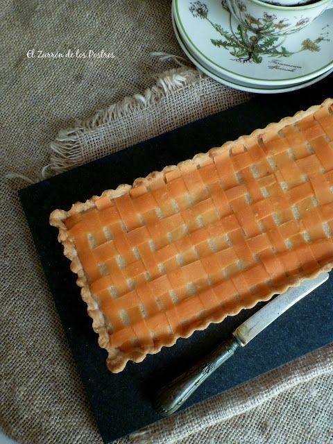 Tarta Bakewell de Zanahoria