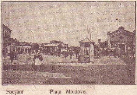 Focsani - Piata Moldovei - antebelica