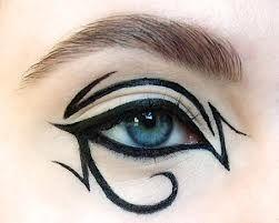 Crazy eyeliner idea: Color Guard, Colorguard, Eye Makeup, Eyeliner Ideas, Eyeliner