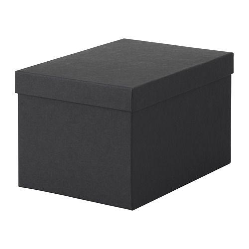 TJENA Kannellinen säilytyslaatikko IKEA
