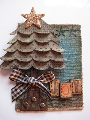 cute and vintage tree - Wendy Vecchi