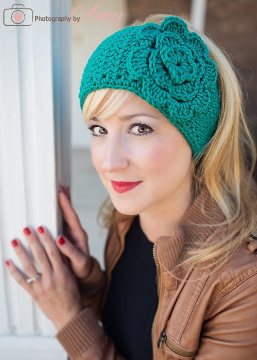 f0199352eeb Free pattern and tutorial from Frayed Knot Crochet Patterns How To Make  Headbands