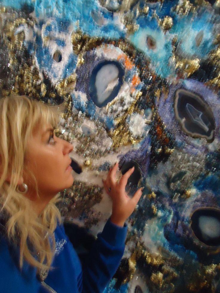 Abstract GEM Stones ART