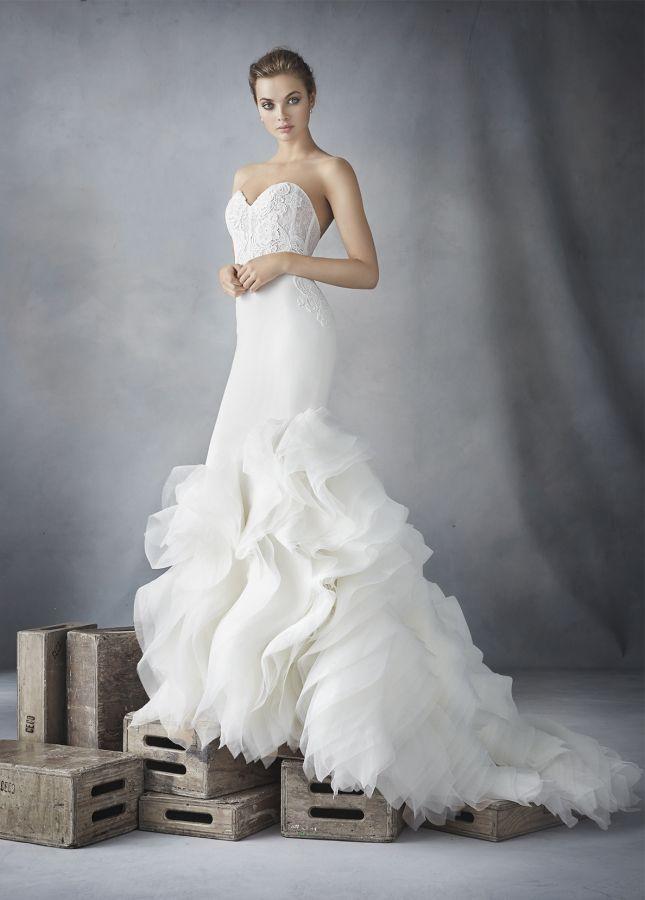 70 besten Lazaro || The Bridal Collection Bilder auf Pinterest ...