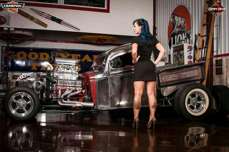 Jeep Wrangler Lifted >> Lucky devil pinups | Wheels | Pinterest | Hot rods, Rat ...