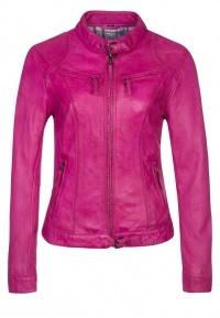 Oakwood Leather Jacket - Pink