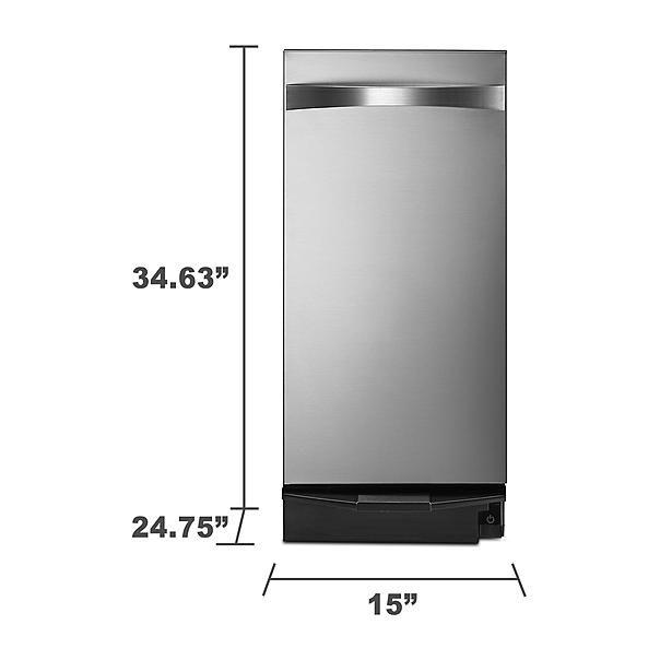 Kenmore Elite 14733 Elite 1.4 cu. ft. Stainless Steel Trash Compactor  alternate…