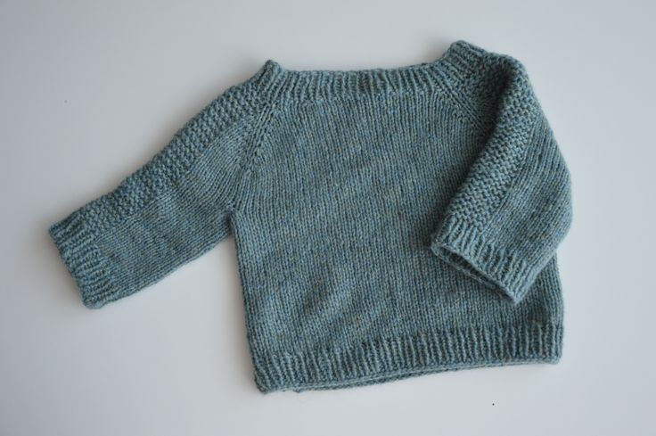 Cashmere baby sweater.