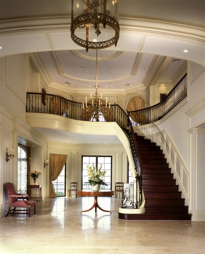 Grand Foyer Staircase: 17 Best Images About Grand Hallways/Foryers/Entrances On
