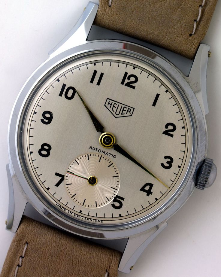 Cool Vintage heuer and Tag heuer watches available at http://ironcrowvintage.com/