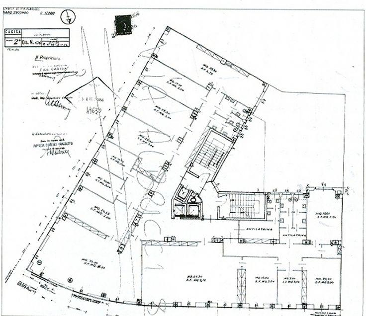 Edifici per uffici e abitazioni via Albricci 10 Milano 1959_Mario Asnago + Claudio Vender