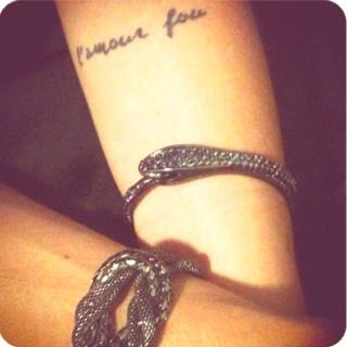 c'est toi et moi. ((l'amour fou - crazy love))
