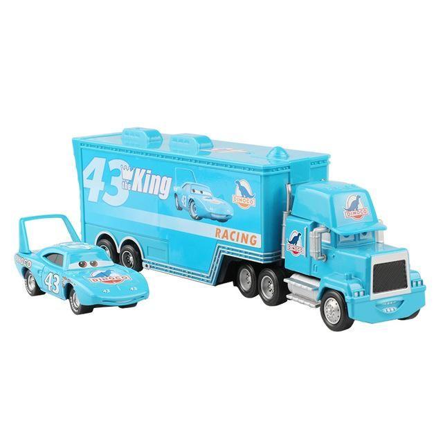 Pixar Cars 2 3 Lightning Mcqueen Mack