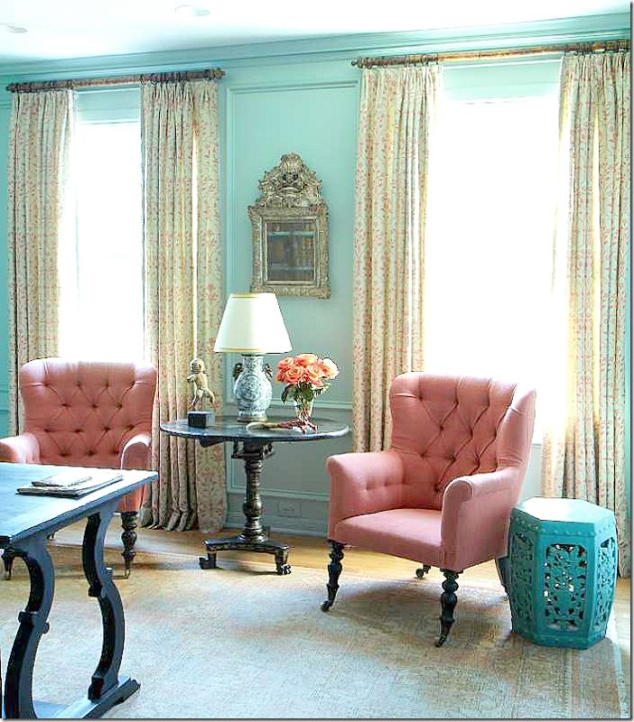 Apricot Fabric For Wingbacks Love This Color Love The