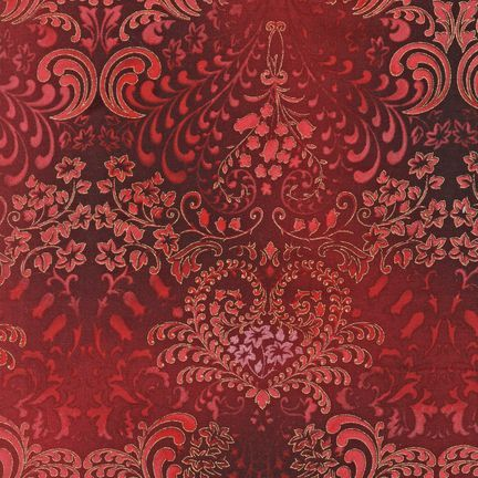 Robert Kaufman Fabrics: APTM-5574-95 BURGUND by Peggy Toole from Fusions® 5574