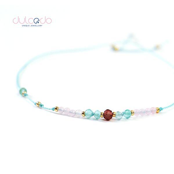 bransoletka jedwabna - DULCEDO biżuteria - biżuteria jest jak ubranie, bez niej czuję się naga