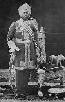 Maharaja Jagatjit Singh (1872-1948)  Maharaja Kharak Singh 's son Tikka Jagatjit Singh (1872-1948) became the ruler when he was barely five years old. During his minority the state was administered by an officer of Punjab Commission, assisted by a council composed of the Principal officials of the state. The Maharaja had the rare honour of occupying the Gaddi for 67 y